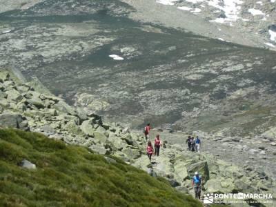 La Mira - Los Galayos (Gredos);marcas de montaña ruta por la sierra de madrid excursiones alrededor
